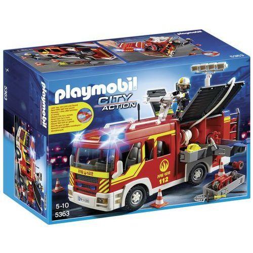 Playmobil CITY ACTION Samochód strażacki ze światłem i dźwiękiem 5363