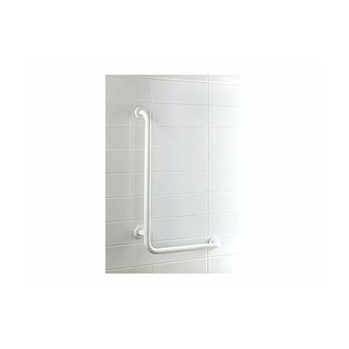 Uchwyt do natrysku kątowy 550x550mm biały marki Bisk
