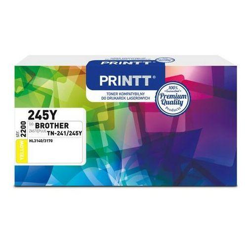 Toner PRINTT do BROTHER NTB245Y (TN-241/245Y) yellow 2200 str.
