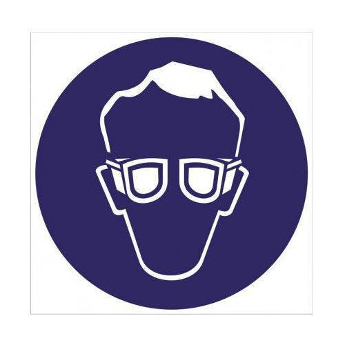 Nakaz stosowania ochrony wzroku wyprodukowany przez B2b partner