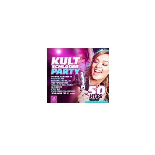 Kultschlagerparty - 50 Hits (9002986130567)