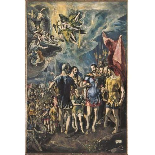 obraz The Martyrdom of Saint Maurice and the Theban Legion 1580 - 1582 El Greco