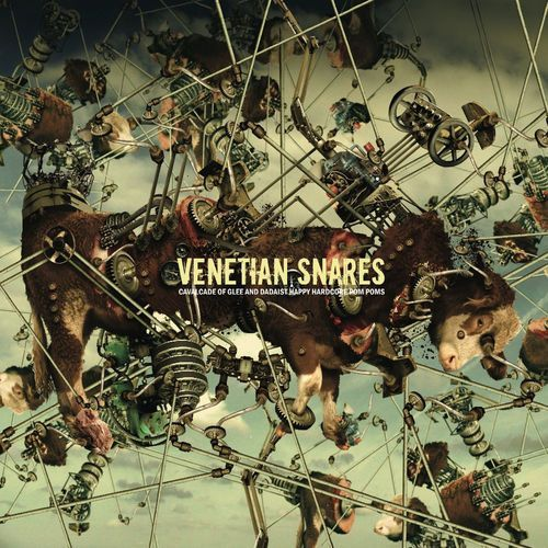 Beatplanet music Cavalcade of glee and dadaist happy hardcore pom poms - venetian snares (płyta cd)
