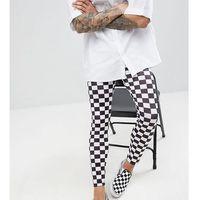 revived festival checkerboard legging - black, Reclaimed vintage, S-L