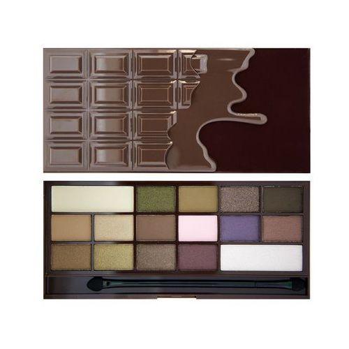 Makeup revolution  i heart makeup wonder palette i heart chocolate - paleta cieni do powiek