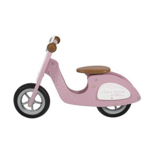 Rowerek biegowy - różowy - marki Little dutch