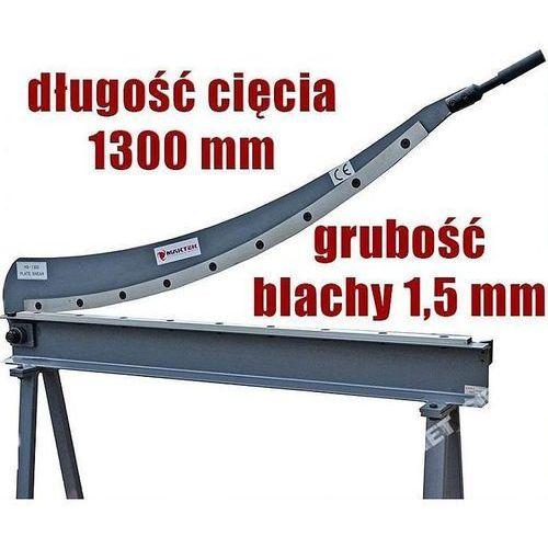 GILOTYNA NOŻYCE SIERPOWE SZABLOWE DO BLACHY MAKTEK HS-1300 EWIMAX