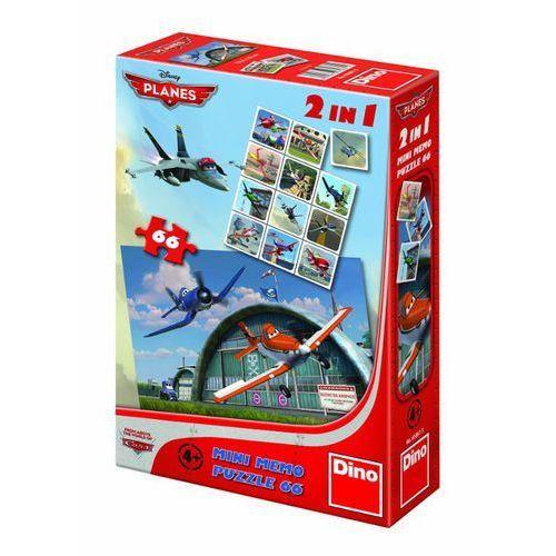 Dino puzzle Puzzle dino 2 w 1 samoloty z3243 (66 elementów)