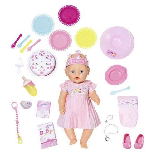 Zapf Baby born lalka interaktywna urodzinowa (4001167824054)