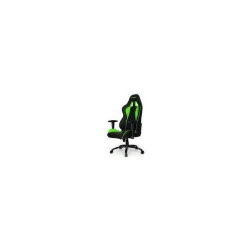Fotel  nitro, czarno-zielony (np-1179) darmowy odbiór w 20 miastach! wyprodukowany przez Akracing