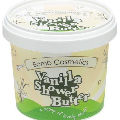- vanilla - shower butter - myjące masło pod prysznic - lody waniliowe marki Bomb cosmetics