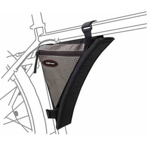 Olpran torba rowerowa na ramę d2 black/grey (8595243834366)