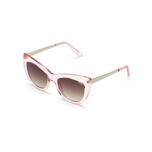 Quay australia Okulary słoneczne qw-000276 steal a kiss pnk/brn