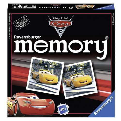 Towarzyska  mini memory auta 3 rag213450 marki Ravensburger