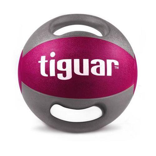 Tiguar piłka lekarska z uchwytami 9 kg - 9 kg (5906660029847)