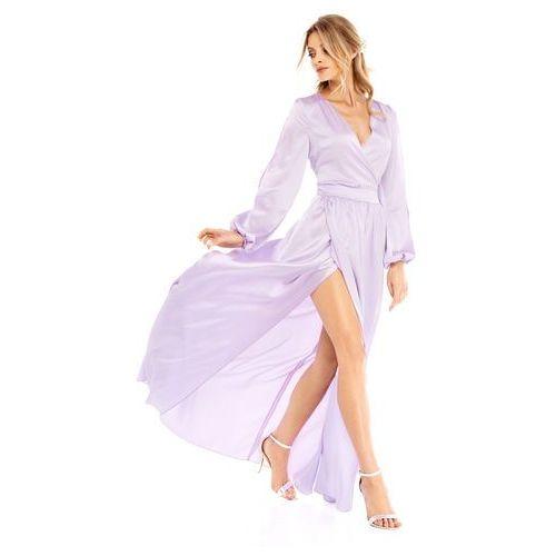Sugarfree Sukienka penelopa w kolorze liliowym