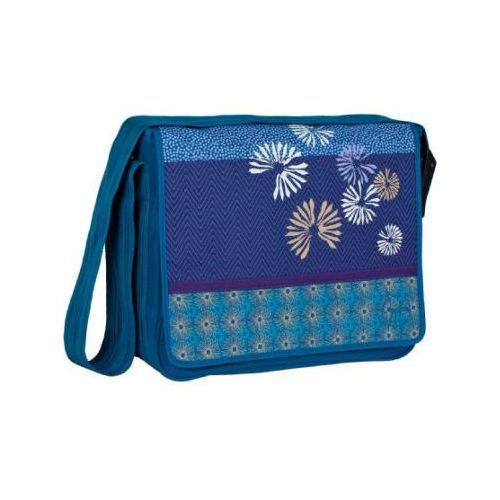 Lässig LÄssig torba na akcesoria do przewijania casual messenger bag bloom petrol (4042183327983)
