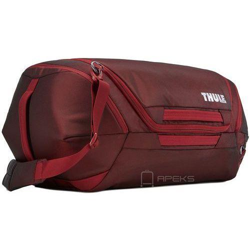 subterra duffel 60l torba podróżna na ramię / czerwona - ember marki Thule