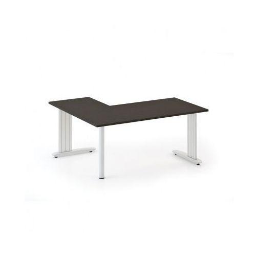 Biurko Flexible L 1800 x 1400 mm, wenge