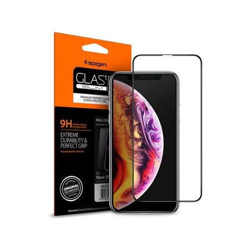 Spigen Szkło glas.tr slim fc do etui apple iphone xs max black