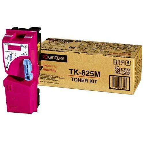 Oryginał Toner Kyocera TK-825M do KM-C2520/C2520/C3225/C3232 | 7 000 str. | magenta
