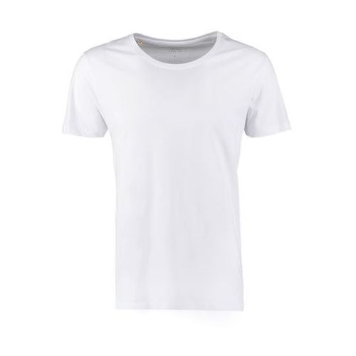 Selected Homme Men's Dave Pima Short Sleeve Cotton T-Shirt - White - L