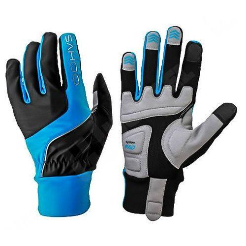 Rowerowe rękawiczki do ekranów dotykowych m - niebieski, marki Sahoo