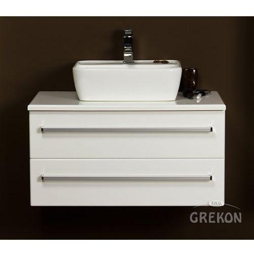 Szafka z umywalką dolomitową 80/50/2 fks veno seria fokus b marki Gante