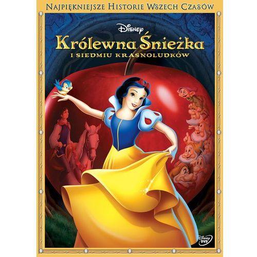 Najpiękniejsze historie wszech czasów. Królewna Śnieżka i siedmiu krasnoludków [DVD] (7321917501477)