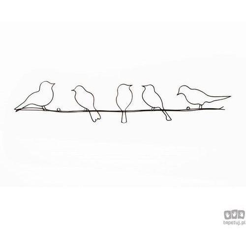 Graham&brown Dekoracja ścienna ptaki na przewodzie 41-221