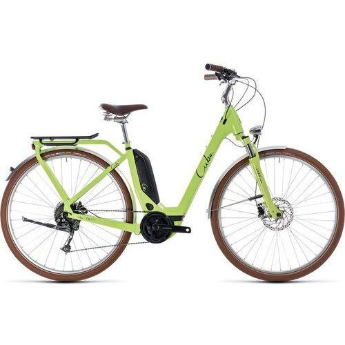 """Cube Elly Ride Hybrid 500 Rower elektryczny miejski Easy Entry zielony 54cm (28"""") 2018 Rowery elektryczne (4054571052148)"""