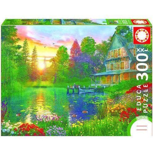Educa Puzzle 300 elementów, xxl sunset with grandpa - darmowa dostawa od 199 zł!!! (8412668167469)