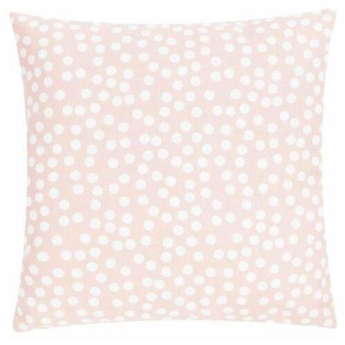 D2.design Poduszka allover dots 45x45 - różowy   kremowy (8717266324567)