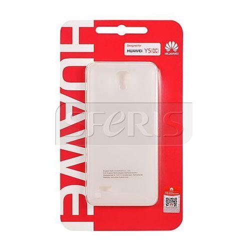 Huawei Etui  protective case do y5 białe - 51991122