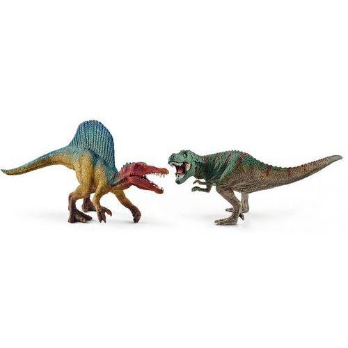 Zestaw Spinosaurus i T-REX mini, 15676