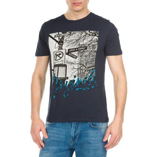 Jack & Jones Jungle Koszulka Niebieski XXL