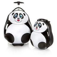 Zestaw: walizka i plecak - panda marki Heys