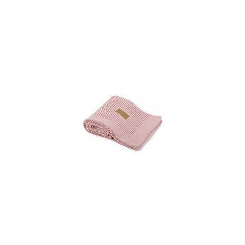 Poofi Koc tkany organic  (vintage pink)
