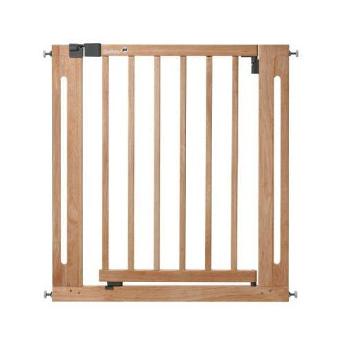 Safety 1st Rozporowa bramka zabezpieczająca na drzwi EasyClose wood, kolor naturalny