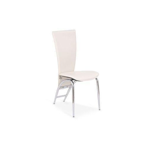 K46 stylowe krzesło kremowe / Gwarancja 24m / Dostawa w 12h / NAJTAŃSZA WYSYŁKA!, kolor K46