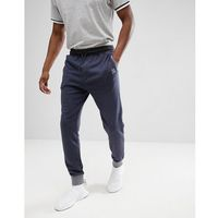 BOSS Contrast Tapered Sweat Joggers in Navy - Navy, kolor szary