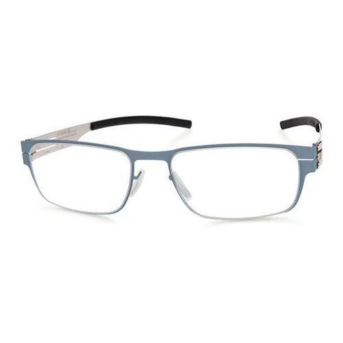 Ic! berlin Okulary korekcyjne  m1213 rast taubenblau