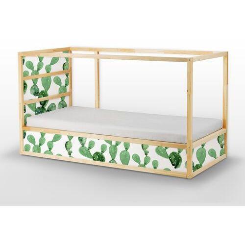 Naklejki Ikea Kura Bed Kaktus z Kwiatami Opuncji
