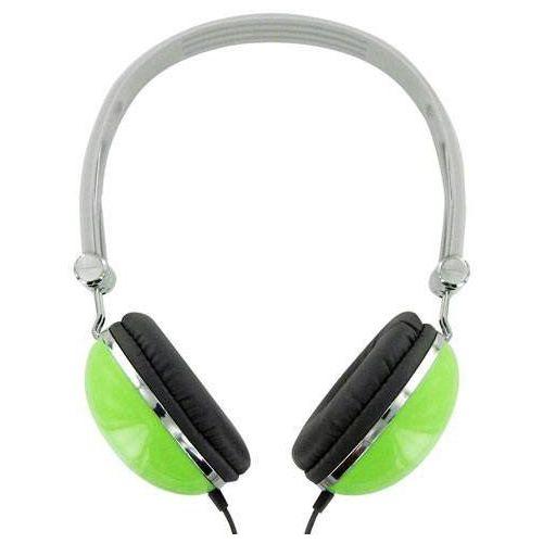 Słuchawki Słuchawki 4WORLD 4W pałąk Zielony marki 4World