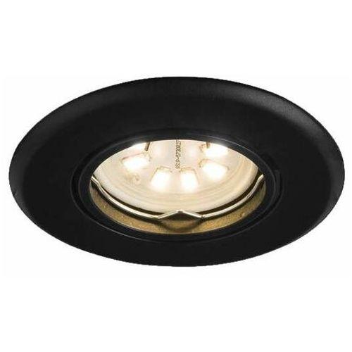 Oczko LAMPA sufitowa TOKIO 3328 Shilo okrągła OPRAWA podtynkowa WPUST regulowany EMILIO czarny, kolor biały;czarny