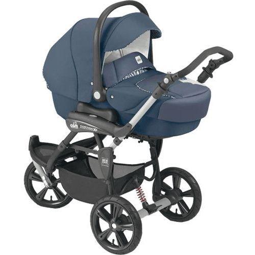 wózek wielofunkcyjny cortina x3 tris evolution - szaro-niebieski, 584 wyprodukowany przez Cam