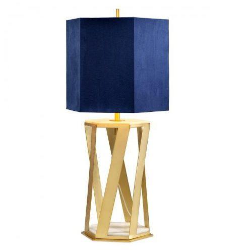 Apollo nocna apollo/tl 87cm złoty-niebieski marki Elstead