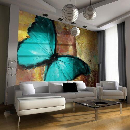 Artgeist Fototapeta - painted butterfly