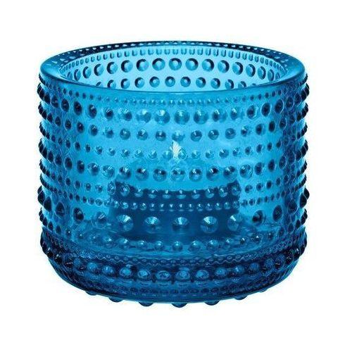 Kastehelmi świecznik na tealight, turkus - Iittala, 1007723