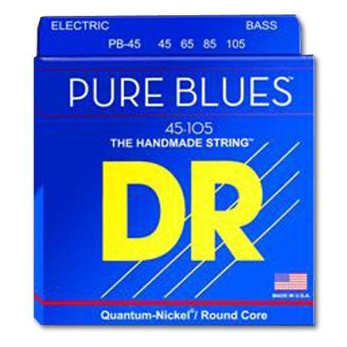 Dr pure blues - struny do gitary basowej, medium light,.045-.105